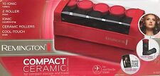 New REMINGTON Ionic Ceramic CURLERS H-1015 PORTABLE 10 SET + Pins