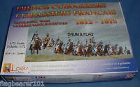 LEGIO #72001 FRENCH CUIRASSIERS NAPOLEONIC WARS 1812-15. 1/72 SCALE PLASTIC FIGS