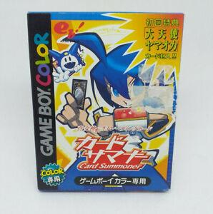 Game Boy Colour Nintendo Shin Megami Tensei Card Summoner Japan Version Complete