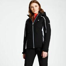 Dare2b Womens Comity BLACK Ski Jacket Ladies NEW SIZE 20 UK