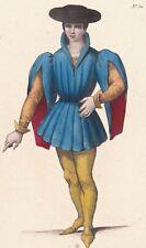 Portrait Jean VIII D'Harcourt Comte d'Aumale batailles d'Azincourt Verneuil