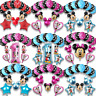 Disney Mickey Minnie Mouse Birthday Balloons Baby Shower Gender Reveal Pink Blue