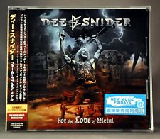 Dee SNIDER Twisted For The Love Of Metal +1 BON JAPAN Plastic Case CD GQCS-90624