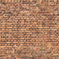 ! 6 SHEETS EMBOSSED BUMPY BRICK stone wall 21x29cm  O Scale CODE v77y8