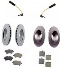 Mercedes W203 C230 Disc Brake Rotor Kit, Brake Pads and Sensors Meyle / Bowa