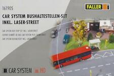 Faller 161905 H0 - CAR- SYSTEM Bushaltestellen- Set  inkl. Street- Set NEU & OvP