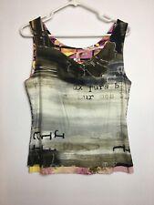 Eva Claudi Women's  Reversible Top Tank Size M
