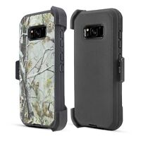 For Samsung Galaxy Note 8 Shockproof Heavy Duty Case Holster Belt Clip