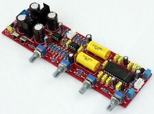 LM4610 NE5532 HIFI Preamplifier Board LM4610N Tone Amplifier 4×10000UF Capacity