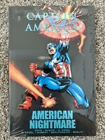 CAPTAIN AMERICA AMERICAN NIGHTMARE HC Hardcover $24.99 SRP Waid SEALED NEW