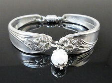 Daffodil Spoon Bracelet 1950 Birthday Bridal Jewelry Gift Silverware Flatware