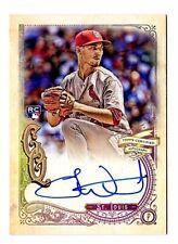 Luke Weaver MLB 2017 TOPPS Gypsy Queen autographe manquant Plaque Signalétique (CARDINALS)