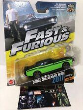 Hot Wheels Dodge Challenger SRT8 2011 Green Fast and Furious 1/55