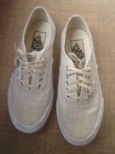 Vans AUTHENTIC Beige Tan Skater Shoes Women's 5