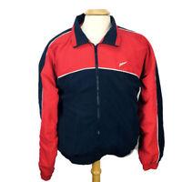 VTG OLYMPIC BRAND USA JCPenney Men Jacket Sz M Red White Blue Full Zip Pocket