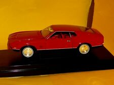 Ford Mustang Mach 1 RED James Bond 007 Diamonds Are Forever ERTL RC2 33848 1:18