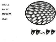 single 10 inch Speaker Grill. round holes   ( UK MADE )