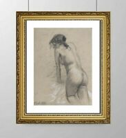 SIMONE BLANC-DEROCQUE (1903-2000) SUPERBE NU FEMININ VERS 1930 (24)