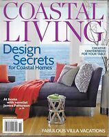 Coastal Living Magazine Design Secrets Creative Table Centerpieces Vacation 2012