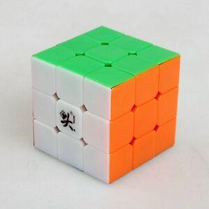 Speed Magic Puzzle 3x3x3 Stickerless 3x3 Dayan V5 ZhanChi Puzzle Mini