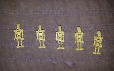 Authentic LEGO Star Wars Battle Droid Minifigure lot x5 sw001c 7662 7141 75058