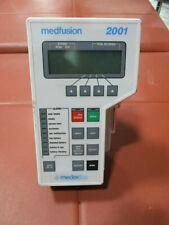 Medfusion 2001 Syringe Pump - No Power Supply