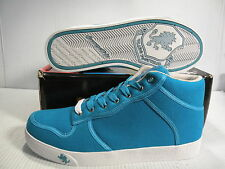 VLADO SPECTRO MID SNEAKERS MEN SHOES TURQUOISE 1G-1060-9 SIZE 13 NEW