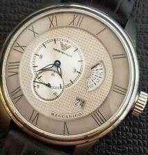 Rare Emporio Armani Automatic Complication Textured With Date Dial Meccanico
