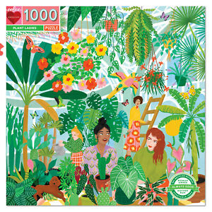 eeBoo Plant Ladies 1000pc Square Jigsaw Puzzle