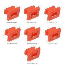 7 BMW E46 E65 E66 E83 323i 328i 323Ci Clips - Dash Trim (Red) 51458266814 OEM