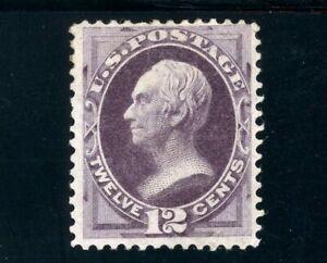 USAstamps Unused VF US 1873 Bank Note Clay Scott 162 OG MHR