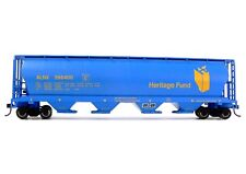 HO Scale Model Railroad Trains Layout Bachmann Heritage Fund Grain Hopper 19139
