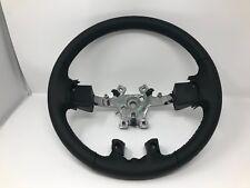 13-17 Ram Trucks New Oem Mopar Premium Black Leather Wrapped Steering Wheel Oe