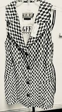 Gianfranco Ferre New Sleeveless Top W Front Buttons, 4 Front Pockets, 10*