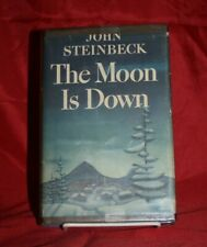 John Steinbeck THE MOON IS DOWN 1st edition 2nd state 1942 HC/DJ in mylar- war