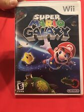 Nintendo Super Mario Galaxy Wii Game Rated E. Gently Used Condition.