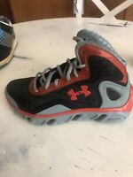 Under Armour SPINE BIONIC 1238198-061 Basketball Shoes Kids Size 4y