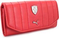 New  Fashion Puma Ferrari Womens Wallet Red EXPRESS SHIPPING