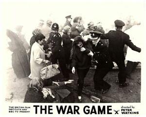 The War Game banned BBC nuclear drama 1967 original lobby card bomb explodes