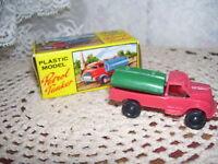 TLC PETROL TANKER PLASTIC MODEL Hong Kong MIB