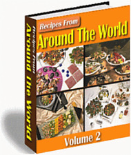 1000+ Recipes From Around the World eBook in PDF on CD FREE SHIPPING!!!