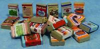 24 x Groceries Packs for 12th Scale Dolls House