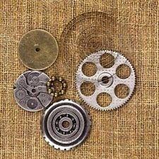 """Prima 960353  """"Vintage Trinkets - Mechanicals Washers"""" 6 Pieces NEW"""
