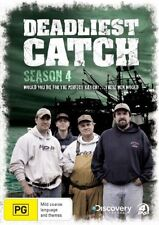 Deadliest Catch : Season 4 (DVD, 2009, 4-Disc Set) Brand New  Region 4