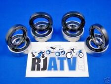 Suzuki LT160 Quadrunner 2003-2004 Both Front Wheel Bearings And Seals