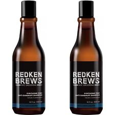 ⭐️ TWO - Redken Brews Pyrithione Zinc Anti-Dandruff Shampoo  (10 oz ea) - NEW