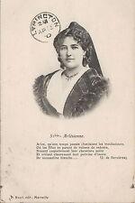 France Ethnic Postcard