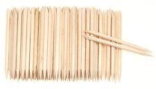 Lots 100PCS Orange Wood Stick Cuticle Pusher Remover Pedicure Manicure Tool W87