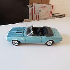 1967 CHEVY CAMARO RS/SS MAISTO 1:18 SCALE DIECAST,BABY BLUE