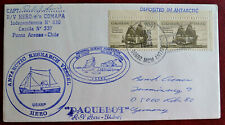 USA ship mail Schiffe Antarctica Antarctic Antarktis Polarpost Polar polaire
